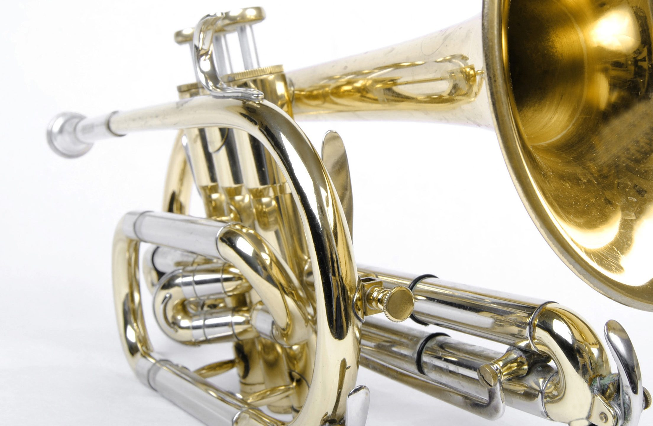 New Durable Stylish Brass Cooper Horn Mouth Mouthpiece Replacement Vbest life Durable Horn Mouthpiece