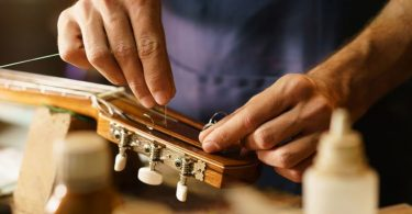 Working with Guitar Strings