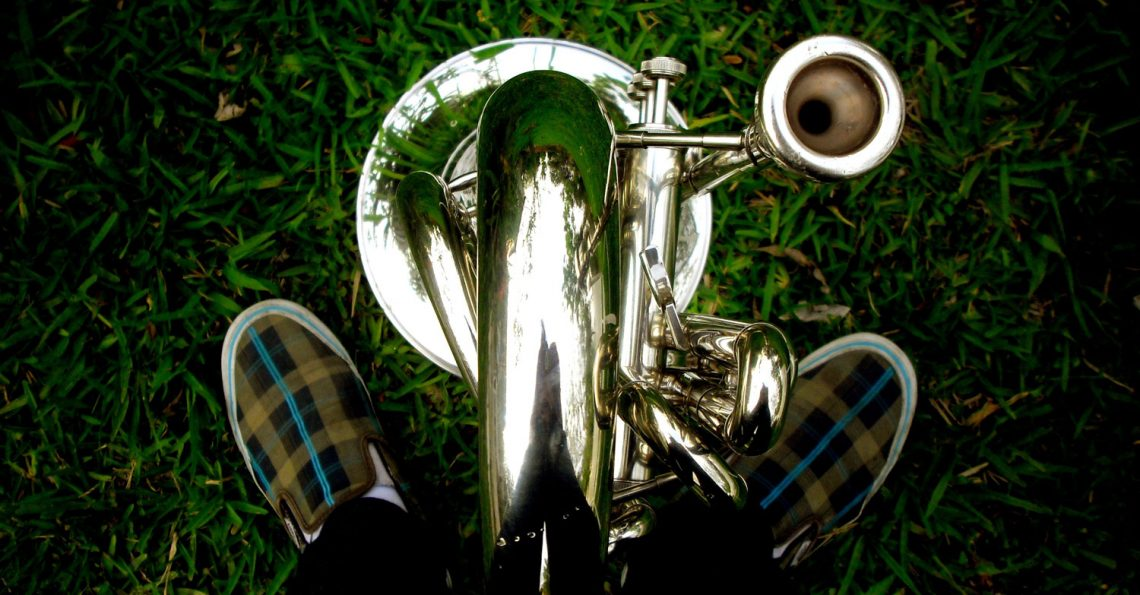 Brass mouthpiece