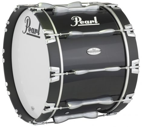 """White Trixon Field Series II Marching Bass Drum 22 by 12/"""""""