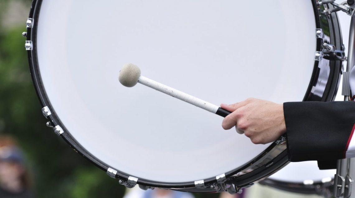 The Best Marching Bass Drums Hear The Music Play