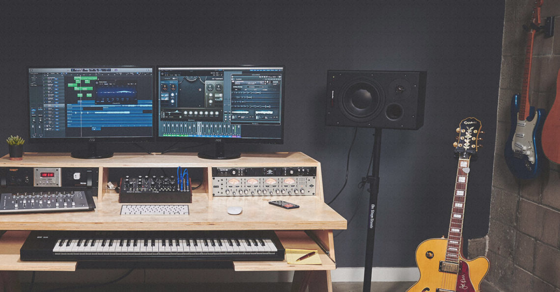Prime The Essential Studio Desk Buyers Guide For Diy Musicians Home Interior And Landscaping Eliaenasavecom